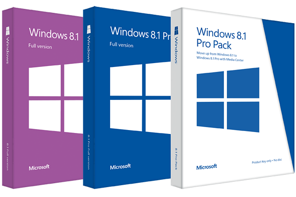 Microsoft Windows 8.1 Ultimate - Professionnal - Premium